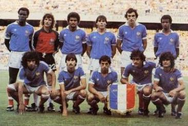 equipe france 1982