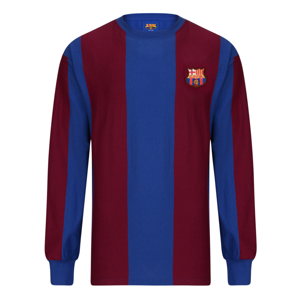 Maillot F.C. Barcelone 1979 manches longues