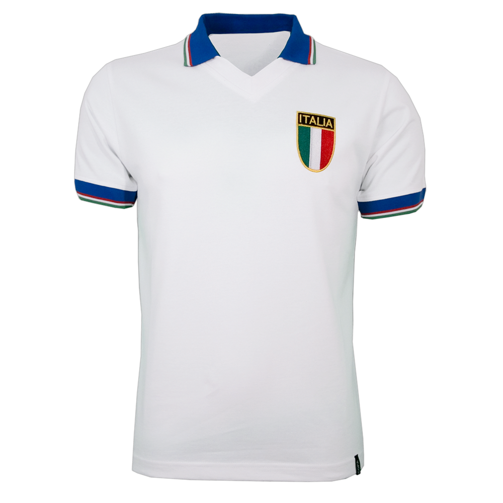 Maillot Italie 1982 blanc