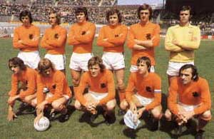 Maillot Hollande 1974 Junior