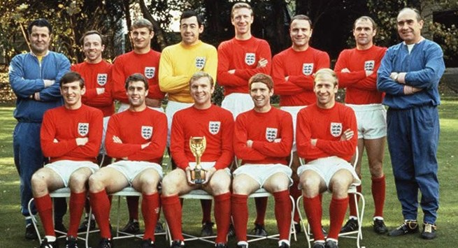 Maillot Angleterre 1966