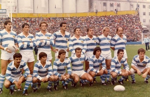 Maillot Rugby Argentine 1985