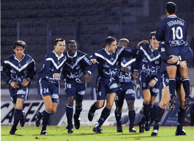 Maillot Girondins Bordeaux Waiti 1999 Junior
