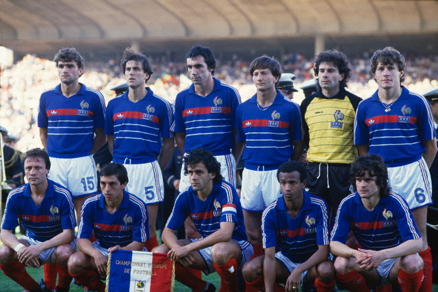 Maillot France 1984