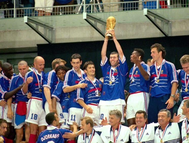 Maillot France 1998