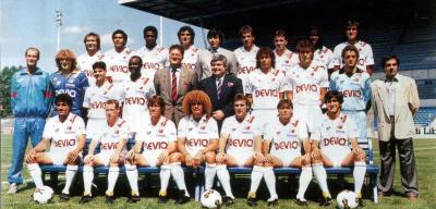 Maillot Montpellier 1988 - 1989