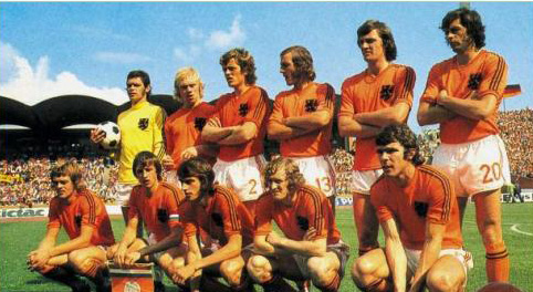 Maillot Hollande 1974