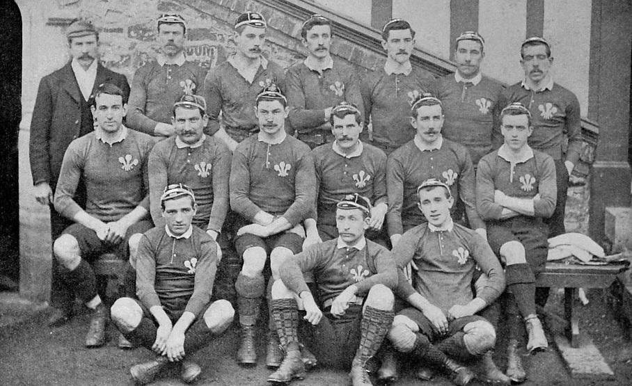 Maillot Rugby Pays de Galles 1905