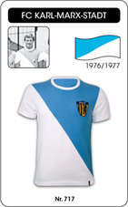 Maillot Karl Marx Stadt 1977-1978