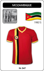 Maillot Mozambique 1980's