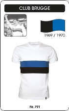 Maillot Club Bruges 1969-1970