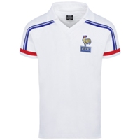Maillot France 1986 blanc