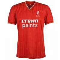 Maillot Liverpool 1986 Crown Paints