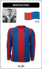Maillot Barcelone FC 1976