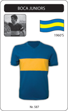 Maillot Boca Junior 1960