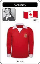 Maillot Canada 1977