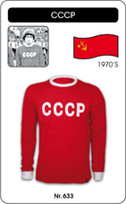 Maillot CCCP 1970 manches longues