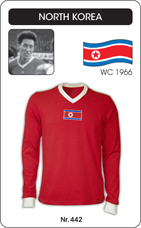 Maillot Coree du Nord 1966