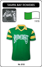 Maillot Tampa Bay Rowdies 1978