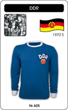 Maillot DDR 1974 manches longues