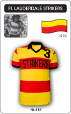 Maillot Ft. Lauderdale Strikers 1979