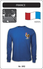 Maillot France 1970's
