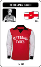 Maillot Kettering Town 1976