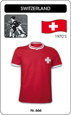 Maillot Suisse 1970's
