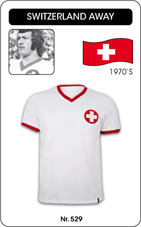 Maillot Suisse 1970 blanc