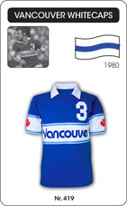 Maillot Vancouver Whitecaps 1980
