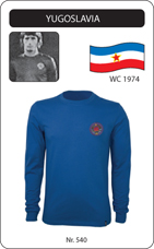 Maillot Yougoslavie 1974