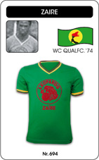 Maillot Zaire 1970's