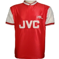 Maillot Arsenal 1984-1986 JVC
