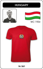 Maillot Hongrie Ferenc Puskas 1954