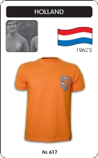 Maillot Pays Bas 1960's